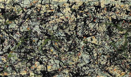 Satan-devil-depiction-in-art-history-Lucifer-Jackson-Pollock